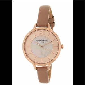 Kenneth Cole Women's Mother of Pearl Watch, NIB